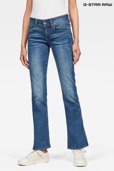 G-Star Blue Midge Mid Boot Cut Jeans