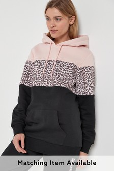 Black Animal Hoody