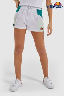 Ellesse™ White Stripe Shorts