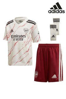 adidas Arsenal Away 20/21 Mini Kit