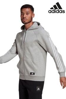 adidas Future Icons Wrap Zip Through Hoodie