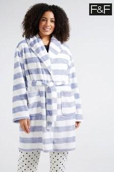 F&F Blue Robe