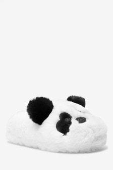 Monochrome Panda Slippers (Older)