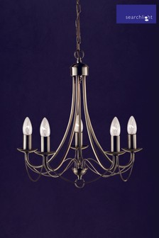 Candella 5 Light Chandelier by Searchlight