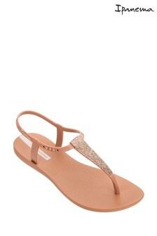 Ipanema Nude Glitter Sandals