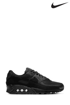 Nike Black Air Max 90 Trainers