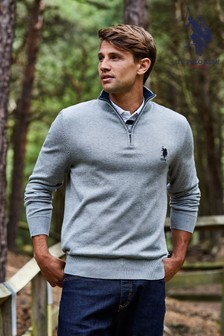 U.S. Polo Assn. Spacer Funnel Knit Jumper