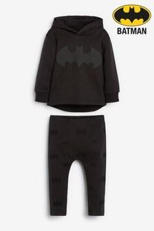 Black Batman® Hoody And Leggings Set (3mths-8yrs)