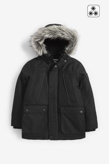 Black Parka (3-16yrs)