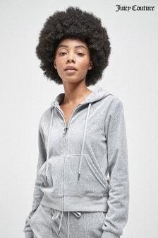 Juicy Couture Classic Velour Robertson Zip Up Hoody