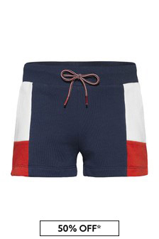 Tommy Hilfiger Girls Navy Cotton Shorts