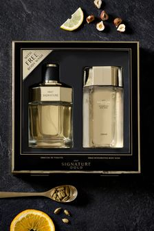 Signature Gold Eau De Toilette 100ml Gift Set
