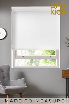 Woven Tiny Stem Off White Made To Measure Roller Blind by Orla Kiely