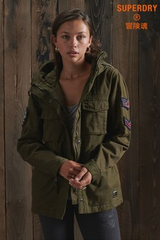 Superdry Bling Relaxed Rookie Parka Jacket