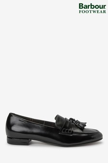 Barbour® Black Evelyn Shoes