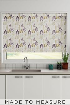 Claythorne Amethyst Purple Made To Measure Roller Blind