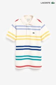 Lacoste® Stripe Polo