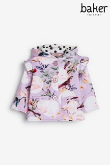 Baker by Ted Baker Lilac Floral Jacket