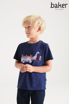 Baker by Ted Baker Dino Graphic T-Shirt