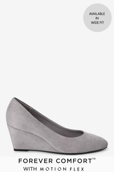 Grey Forever Comfort® With Motion Flex Wedges