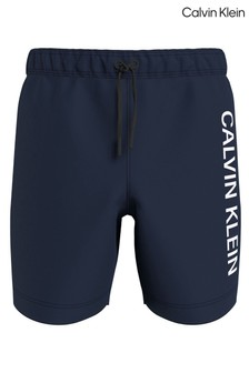 Calvin Klein Blue Intense Power Drawstring Swim Shorts