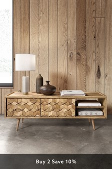 Swoon Terning Media Unit Large Mango Wood