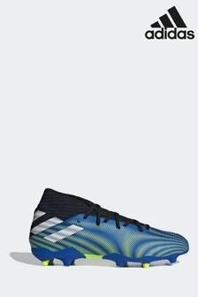 adidas Blue Nemeziz P3 Firm Ground Football Boots