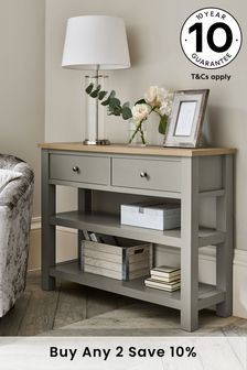 Dove Grey Malvern Storage Console