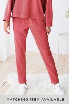 Pink Supersoft Fleece Joggers