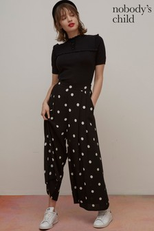 Nobodys Child Zeena Spot Print Trousers