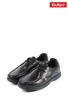 Kickers® Black Reasan Lace Shoe