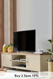 Cream Malvern Wide TV Stand