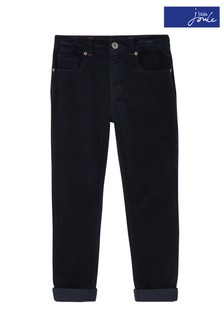 Joules Blue Jett Cord Trousers