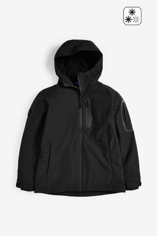 Black Fully Waterproof Anorak (3-16yrs)