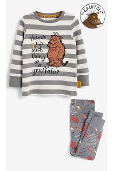 Grey Gruffalo Snuggle Pyjamas (9mths-10yrs)