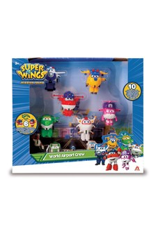 Super Wings Transform-a-Bots World Airport Crew Series 3