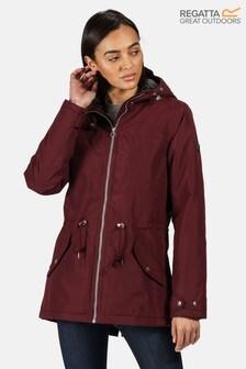 Regatta Purple Brigid Waterproof Jacket