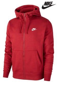Nike Club Fleece Zip Through Hoody