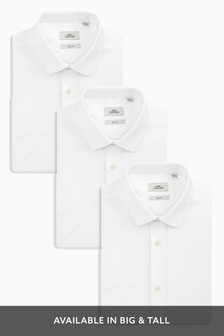 c44bbb22de White Shirts Three Pack