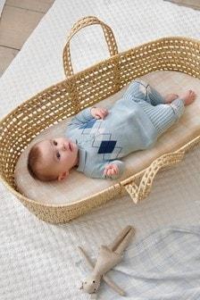 Argyle Knitted Jumper And Leggings Set (0mths-2yrs)