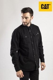 CAT® Black Button Up Shirt