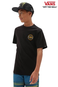 Vans Boys Black Authentic T-Shirt