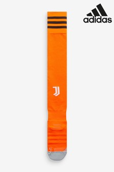 adidas Orange Juventus Third 20/21 Football Socks