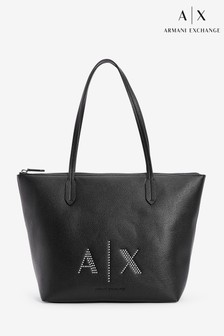 Armani Exchange Stud Tote Bag