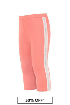 Emporio Armani Baby Girls Pink Trousers