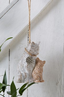 Cat Family Hanging Decoration