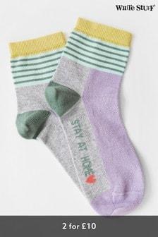 White Stuff Stay At Home Socks