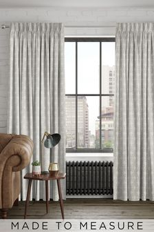 Hallam Linen Cream Made To Measure Curtains