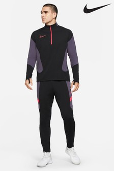 Nike Black/Red Block Tracksuit