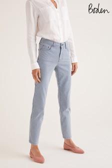 Boden Blue Slim Straight Ankle Skimmer Jeans